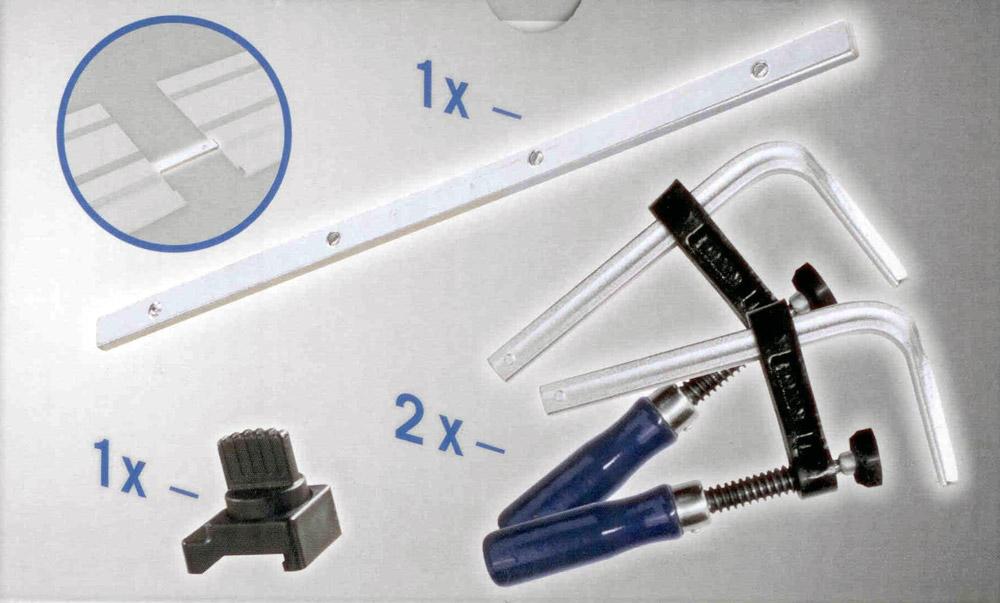 scheppach zubeh rpaket zu f hrungsschiene 1400 mm f r tauchs ge cs55 pl55 pl75. Black Bedroom Furniture Sets. Home Design Ideas