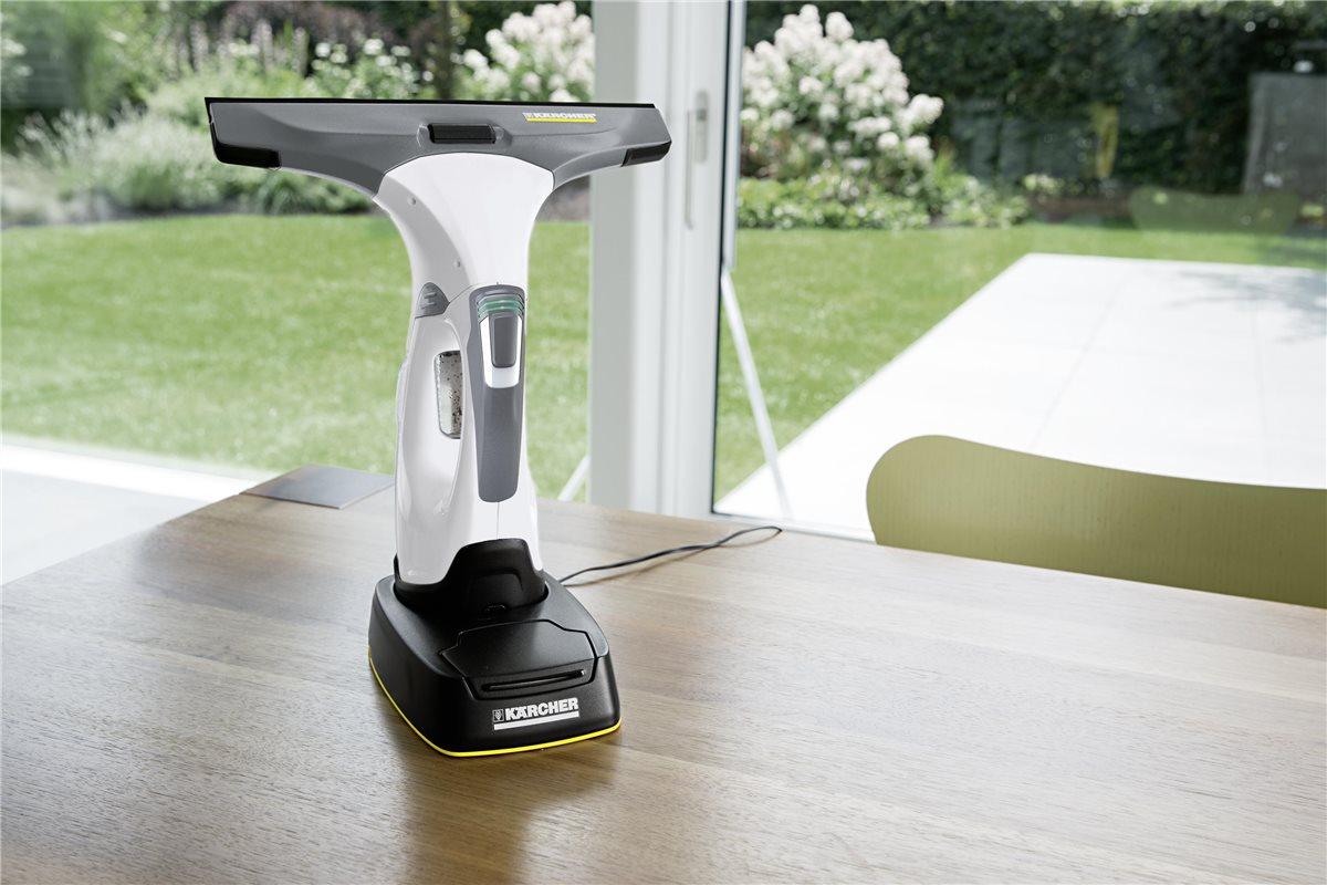 k rcher akku fenstersauger set wv 5 premium plus weiss mit. Black Bedroom Furniture Sets. Home Design Ideas